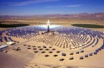 Concentrated solar power plant with tower